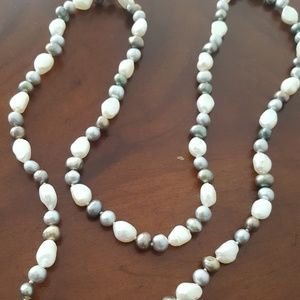 """Jewelry - 30"""" Cultured Freshwater Pearl Necklace"""